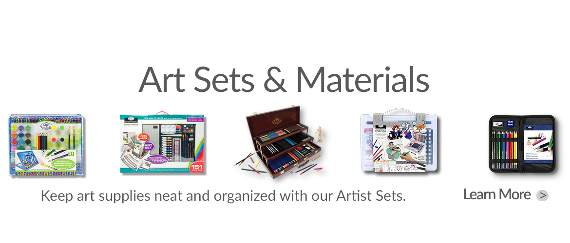 Take a look at all of our Art Sets!