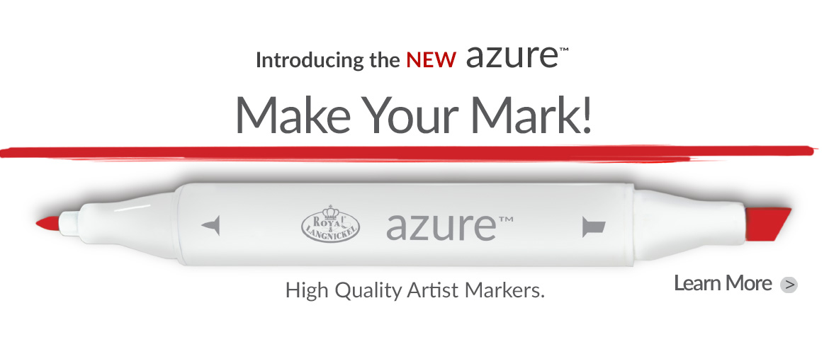 Check out our NEW Azure™ Markers!