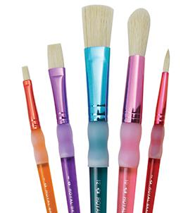 #BK601 New Royal Langnickel Big Kid/'s Choice DELUXE BEGINNER 6pc Brush Set