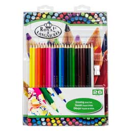Royal Brush /& Langnickel Metallic Colored Pencils 12ct