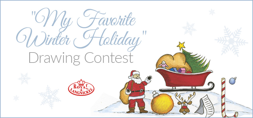 My Favorite Winter Holiday Drawing Contest