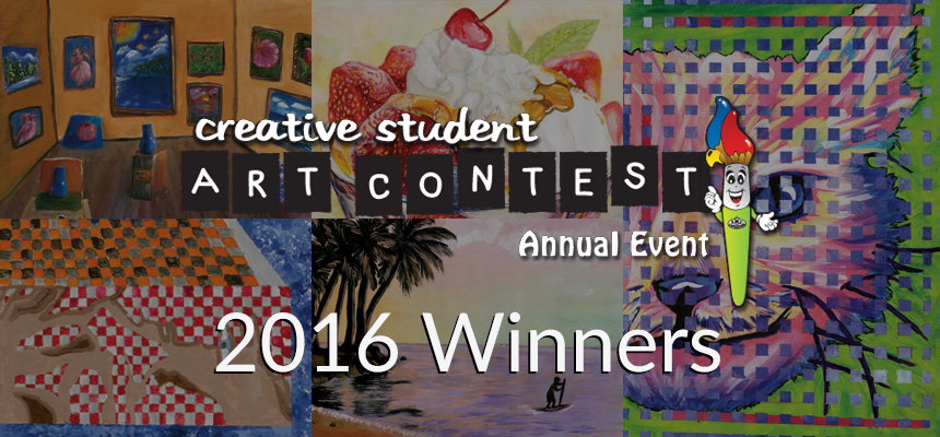2016 K-12 Art Contest Winners